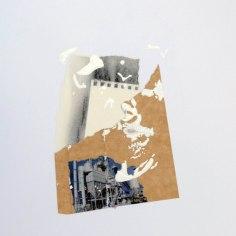 CALUMNIA (La calunia de Apeles), 2016 collage sobre papel 30x42cm
