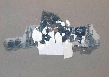 ENVIDIA (La calunia de Apeles), 2016 collage sobre papel 30x42cm
