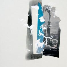 IGNORANCIA (La calunia de Apeles), 2016 collage sobre papel 30x42cm