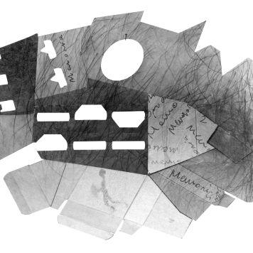 LA MEMORIA, UN PAISAJE ÍNTIMO, 2016 impresión digital sobre papel acuarela 70x50 cm2 x 59,4 cm 2016