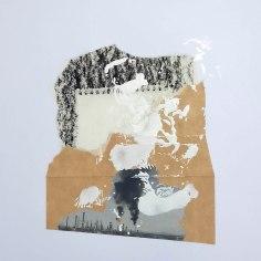 RENCOR (La calunia de Apeles), 2016 collage sobre papel 30x42cm