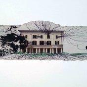 HUELLA II, 2015. collage sobre papel 29,7 x 42 cm