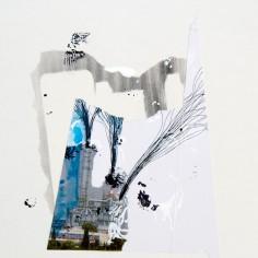 VERDAD (La calunia de Apeles), 2016 collage sobre papel 30x42cm