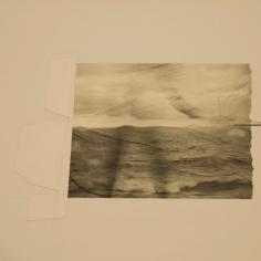 SE MARCHÓ A UN LUGAR IGNOTO III, 2017 impresión digital sobre papel cansón y collage 36x42cm