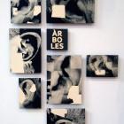 """arboles """"EL JARDÍN DE MI VIDA"""" (DETALLE) Impresión digital sobre papel iris. La Casa del Libro _ BARCELONA 2018"""
