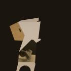 ECO-S, 2018 infografía, carbón y cartón industrial sobre cartón passe-partout crescent 40x60cm