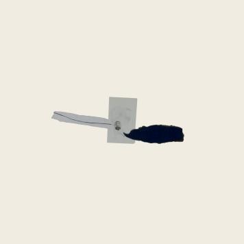 SILENCIO III, 2018. collage sobre cartón passe-partout crescent. 120x81cm