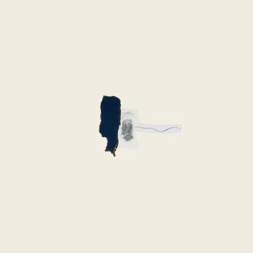 SILENCIO II, 2018. collage sobre cartón passe-partout crescent. 120x81cm