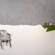 ST, 2019 mixta sobre papel 29,7x42cm