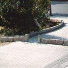 1991 VORERES detalle _ Intervencion urbana _dimensiones variables_ Ladrillo refractario 25x10x5 cm cu