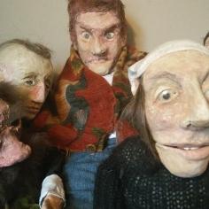 Una débil presencia, un roce apenas. las marionetas, 2017