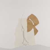 RUINAS, 2019 collage sobre papel 29,7x42cm
