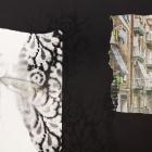 BARRIO, 2020 mixta/collage sobre papel 32x21cm