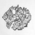 DAME LA MANO Y SEGUIMOS (momento VI), 2017 carbón prensado sobre papel sulfurizado 70x100cm